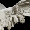 The statue of a winged goddess